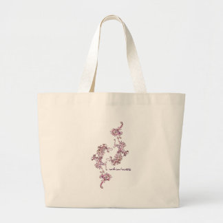 Petals In Spring (double) Large Tote Bag