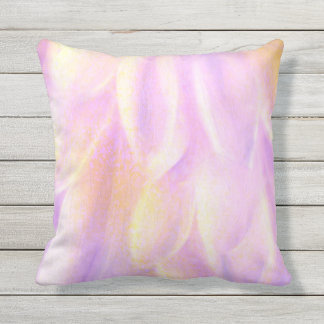 Petals Outdoor Throw Pillow, Throw Pillow