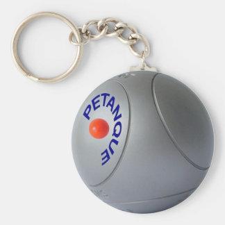 Petanque Key Chain