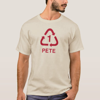 PETE recycling tee raspberry