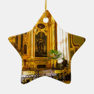 Peter and Paul Fortress St. Petersburg Russia Ceramic Ornament