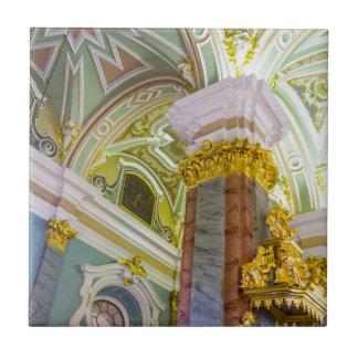 Peter and Paul Fortress St. Petersburg Russia Ceramic Tile