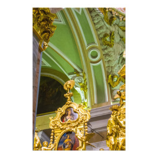 Peter and Paul Fortress St. Petersburg Russia Custom Stationery