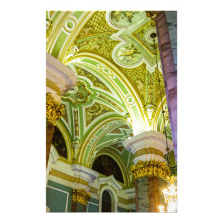 Peter and Paul Fortress St. Petersburg Russia Customized Stationery