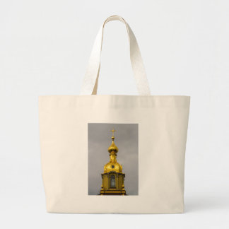 Peter and Paul Fortress St. Petersburg Russia Large Tote Bag
