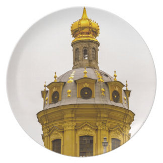 Peter and Paul Fortress St. Petersburg Russia Party Plates