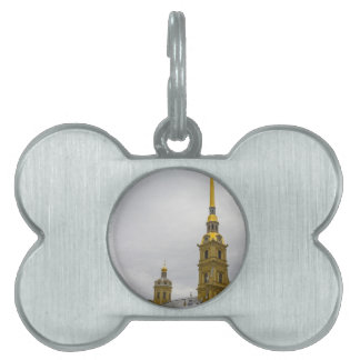 Peter and Paul Fortress St. Petersburg Russia Pet ID Tag