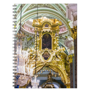Peter and Paul Fortress St. Petersburg Russia Spiral Notebook