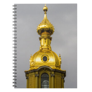 Peter and Paul Fortress St. Petersburg Russia Spiral Notebooks