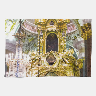 Peter and Paul Fortress St. Petersburg Russia Towel