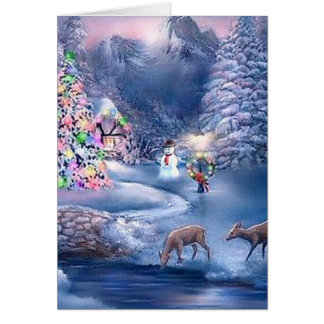 peter bayfield cards - christmas