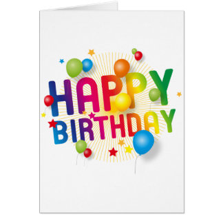 Peter Bayfields Cards - Happy Birthday