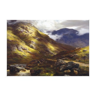 Peter Graham Wandering Shadows Canvas Print