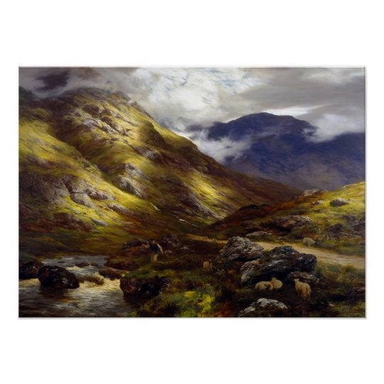 Peter Graham Wandering Shadows Poster