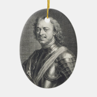 Peter I  the Great Ceramic Ornament
