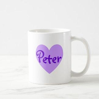 Peter in Purple Coffee Mug