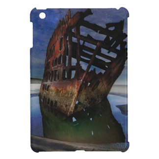 Peter Iredale Shipwreck Under Starry Night Sky iPad Mini Case