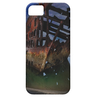 Peter Iredale Shipwreck Under Starry Night Sky iPhone 5 Case
