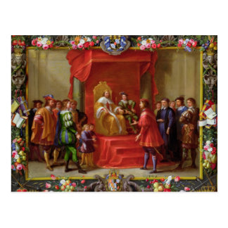 Peter IV, King of Aragon Postcard