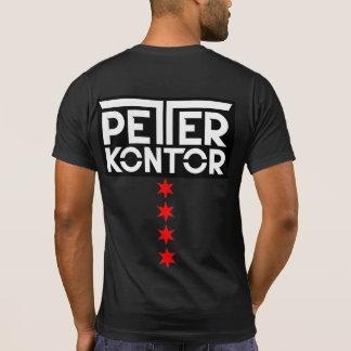 Peter Kontor Chicago Trance Family Stars logo T-Shirt