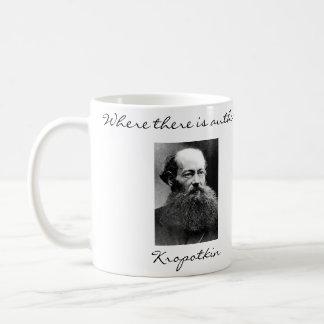 Peter Kropotkin Anarchist Quotes Mug