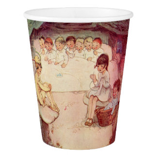 Peter Pan and Wendy Underground with Lost Boys Paper Cup