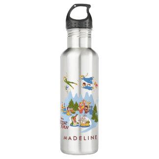 Peter Pan Flying over Neverland 710 Ml Water Bottle