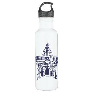 Peter Pan & Friends Star 710 Ml Water Bottle