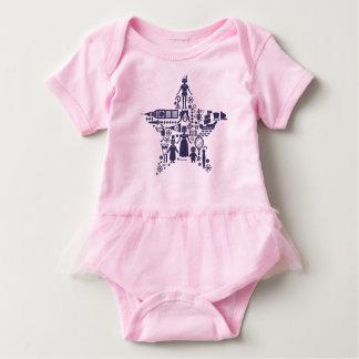 Peter Pan & Friends Star Baby Bodysuit