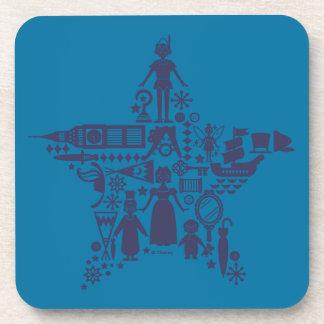 Peter Pan & Friends Star Coaster