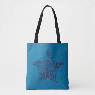 Peter Pan & Friends Star Tote Bag