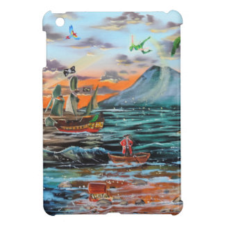 Peter Pan Hook's cove Tinker Bell painting iPad Mini Case