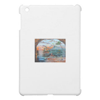Peter Pan Hook's cove Tinker Bell painting iPad Mini Cases