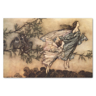 Peter Pan in Kensington Gardens Fairies Kid's Tissue Paper
