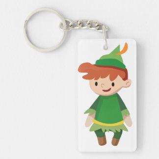 Peter Pan Acrylic Keychain