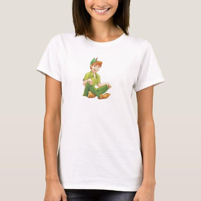 Peter Pan Sitting Down Disney T-Shirt
