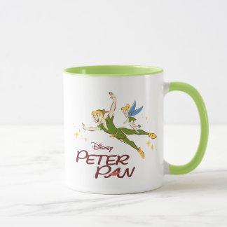 Peter Pan & Tinkerbell Mug