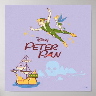 Peter Pan & Tinkerbell Poster