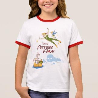 Peter Pan & Tinkerbell Ringer T-Shirt