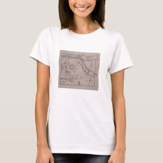 Peter Pan's Map of Kensington Gardens T-Shirt