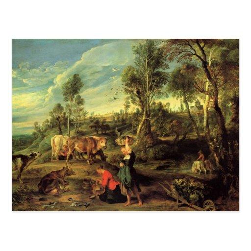 Peter Paul Rubens Art Postcards