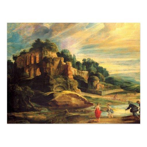 Peter Paul Rubens Art Post Card