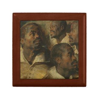 Peter Paul Rubens - Four Studies of a Head Keepsake Box