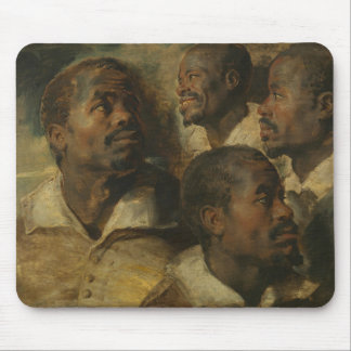 Peter Paul Rubens - Four Studies of a Head Mouse Pad