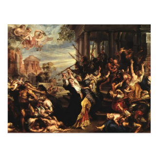 Peter Paul Rubens- Massacre of the Innocents Postcard