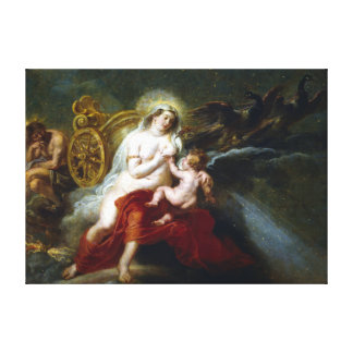 Peter Paul Rubens The Birth of the Milky Way Canvas Print