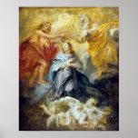 Peter Paul Rubens The Coronation of the Virgin Poster