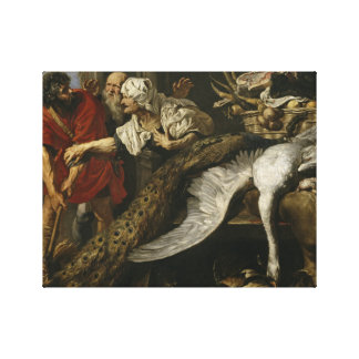 Peter Paul Rubens - The Recognition of Philopoemen Stretched Canvas Print