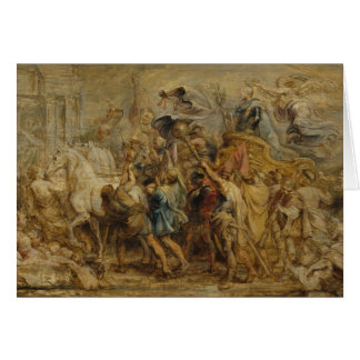 Peter Paul Rubens - The Triumph of Henry IV Card