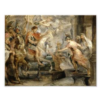 Peter Paul Rubens -Triumphant Entry of Constantine Art Photo